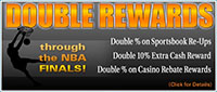 5Dimes.eu Basketball Double Rewards