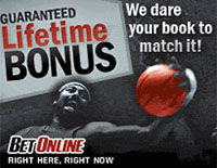 BetOnline Guaranteed Lifetime Bonus